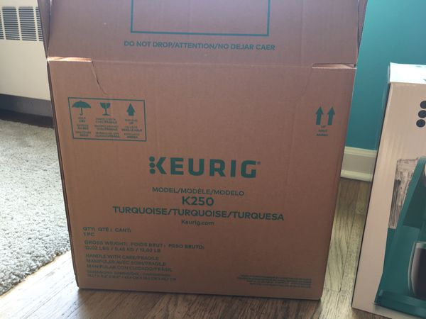 New Keurig k250 plus - still in box
