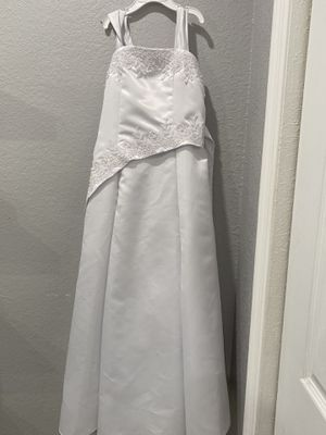 White dress size 10 for Sale in Homestead, FL