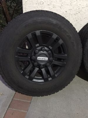 F250 rims and tires for Sale in Yorba Linda, CA