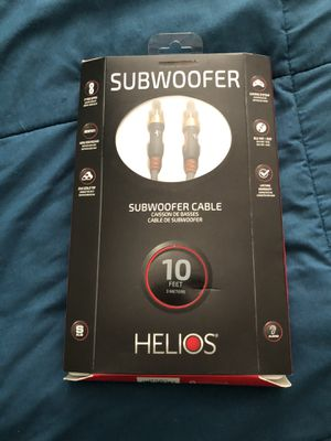 Subwoofer Cable for Sale in Austin, TX