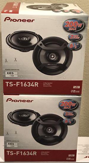 """New (4) Pioneer 6.5"""" inch 200 Watts Car Audio Speakers (4 Speakers)🔥🔊 for Sale in Hemet, CA"""