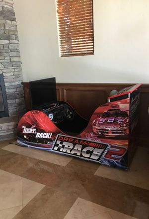 Realistic race car arcade game for Sale in Henderson, NV