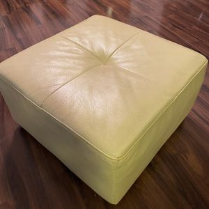 Leather Ottoman for Sale in Rockville, MD
