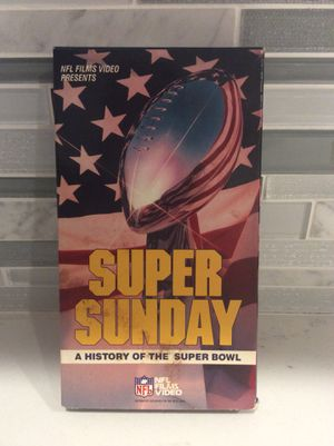 Super Sunday VHS Tape for Sale in Yonkers, NY