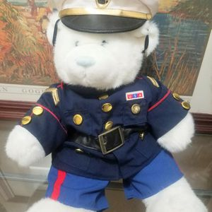 "Build-A-Bear US Marine Corps Bear 17"" Military Uniform Stuffed Animal for Sale in Des Plaines, IL"