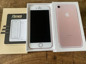 Unlocked- 128 GB iPhone 7 Rose Gold for Sale in Ontario, CA