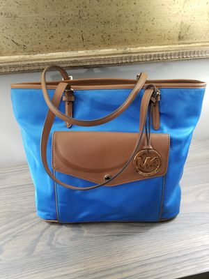 Michael Kors Hand Bag Canvas & Leather Tote for Sale in Jackson Township, NJ