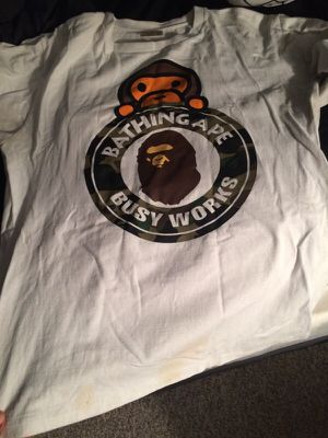 Bape long sleeve shirt size M for Sale in Fort Washington, MD