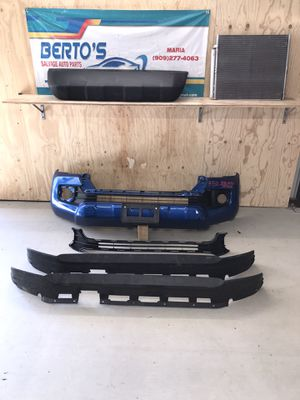 2016-2020 Toyota Tacoma Front Bumper, AC condenser,parts for Sale in Jurupa Valley, CA