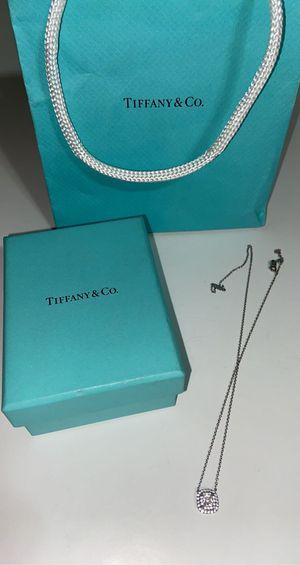 Tiffany diamond necklace for Sale in Dearborn, MI