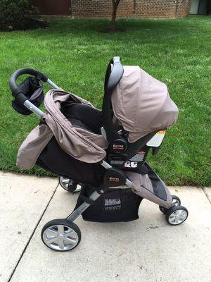 Britax Stroller with car seat for Sale in Fairfax, VA