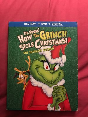 Dr Seuss' How The Grinch Stole Christmas (Blu-ray) for Sale in Rosemead, CA