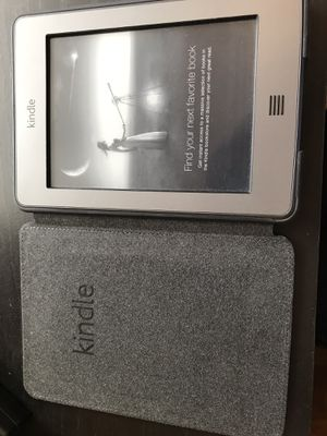 Amazon Kindle Touch with case for Sale in Chicago, IL