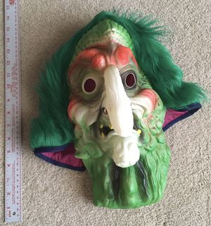 Halloween witch's mask for Sale in Pittsburg, CA