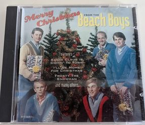 """""""Merry Christmas from The Beach Boys""""- Christmas music CD for Sale in Berlin,  CT"""