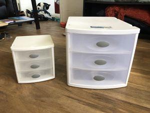 Plastic Sterlite storage drawers for Sale in Honolulu, HI