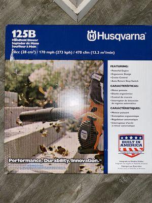 Husqvarna 125B handheld blower for Sale in Pacific, WA