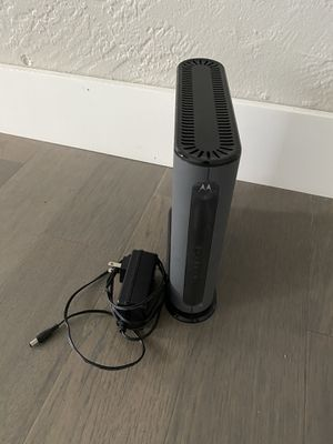 Motorola MG7550 Modem. Practically Brand New. for Sale in Hollywood, FL