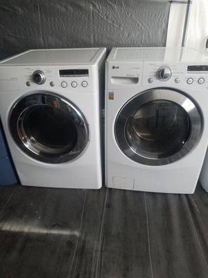 LG washer and dryer set front loader for Sale in Tampa, FL