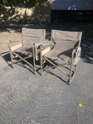 Lewis and Clark folding camping chairs .Get A Free Sleeping Bag for Sale in Hesperia, CA