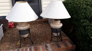 two beautiful lamps in excellent condition for Sale in Smyrna, TN