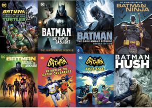 Batman Animated Ultimate Collection 8-Movies - Vudu HDX for Sale in Chino, CA