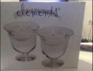 Floating glass candle holders for Sale in Anaheim, CA