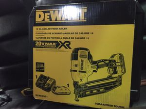 Brand new finishing nail gun for Sale in Dearborn, MI