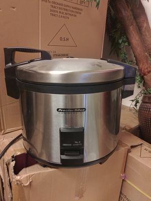 Commercial rice cooker/food warmer for Sale in Mount MADONNA, CA