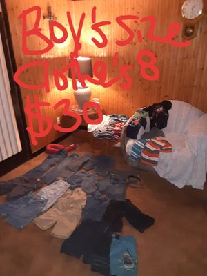 Boys size 8 clothing lot good condition for Sale in Saint Thomas, PA