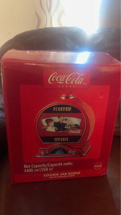 Coca-Cola Cookie Jar Radio. for Sale in Fort Washington,  MD