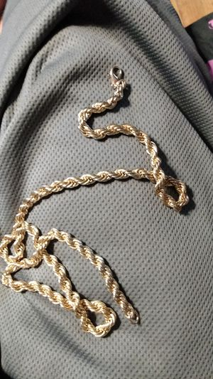 26inch 14k gold chain for Sale in Chicago, IL