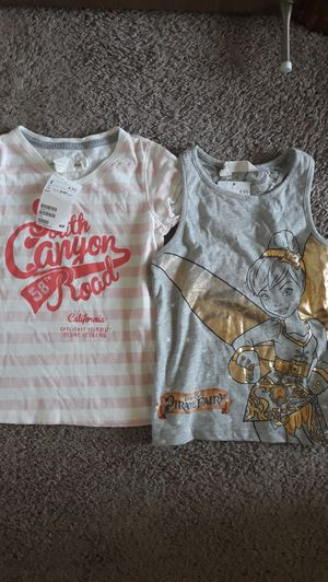 Girls tops 2-4 t, new for Sale in Tacoma, WA