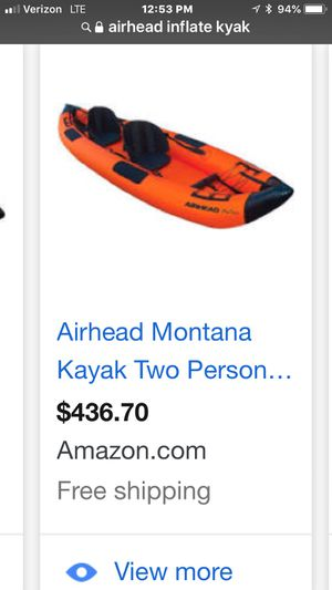 Kayak 2 person inflatable for Sale in Westmont, IL
