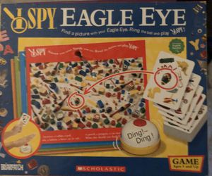 I spy eagle eye board game for Sale in Stafford Township, NJ