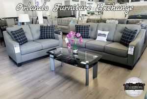 $899 FREE DELIVERY! BRAND NEW GREY SOFA AND LOVESEAT for Sale in Oviedo, FL
