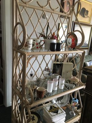 Bamboo bakers rack for Sale in Coweta, OK
