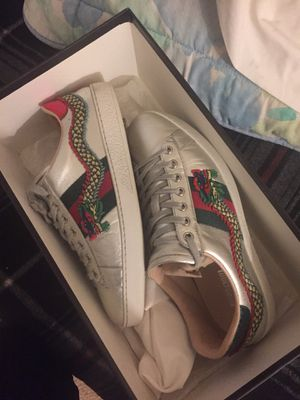 Size 8 Gucci Ace's & Margiela Paint Sneakers Price Is For Both Not Each for Sale in Vienna, VA