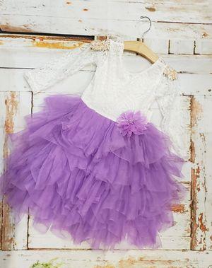 Wedding flower girl birthday tutu dress for Sale in Mary Esther, FL