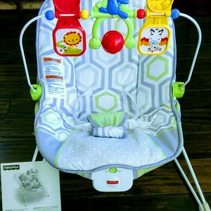 Baby Seat ~ Fisher Price Baby's Bouncer In Geo Meadow for Sale in San Marcos, CA