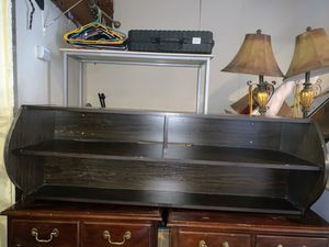 Wood Floating TV Stand like new for Sale in Nutley, NJ
