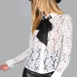 White Lace Button Down Shirt for Sale in Carnegie, PA