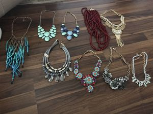 Huge jewelry Lot over 30 pieces CHARMING CHARLIE for Sale in Houston, TX