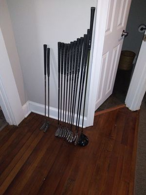 Left-handed golf clubs for Sale in Madison Heights, VA