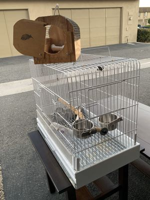 Bird Cage or for Parrot and Carrier cage nest for Sale in Fountain Valley, CA
