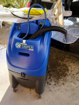 Sniper 12 gallon carpet extractor w/ dual vacuums HEATED BRAND NEW for Sale in Las Vegas, NV