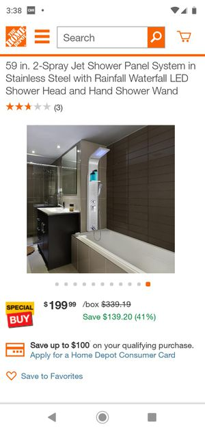 SHOWER PANEL for Sale in Moreno Valley, CA