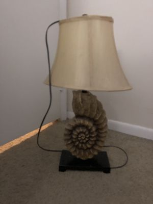 sea shell lamp for Sale in Palm Springs, FL