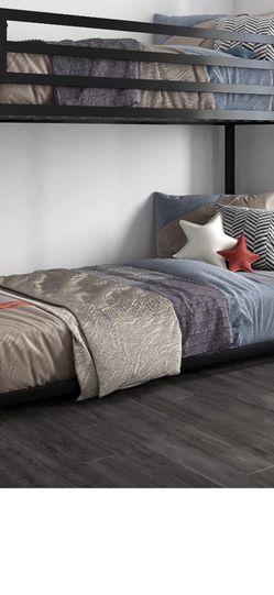 Metal Twin/Twin Bunk Bed, Black for Sale in Las Vegas,  NV