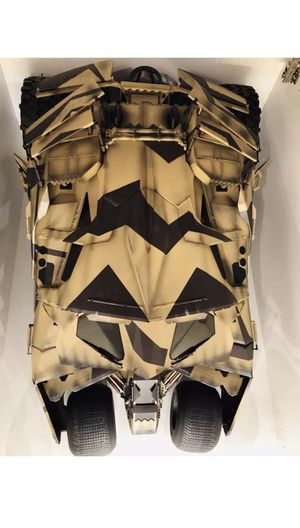 Hot Toys 1-6 Scale The Dark Knight Rises Tumbler Camouflage Version for Sale in Indian Creek, FL